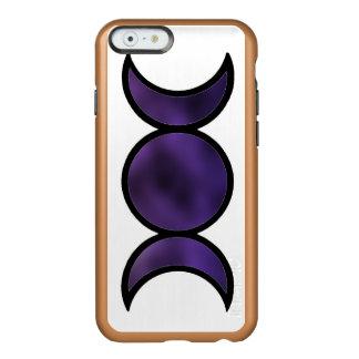 Funda Para iPhone 6 Plus Incipio Feather Shine Caja púrpura del iPhone del brillo de la diosa