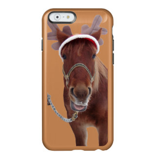 Funda Para iPhone 6 Plus Incipio Feather Shine Ciervos del caballo - caballo del navidad -