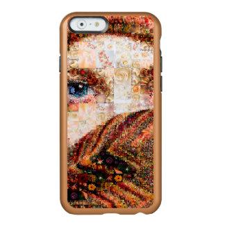 Funda Para iPhone 6 Plus Incipio Feather Shine Collage-ojo-chica beduino del chica-ojo del