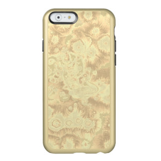 Funda Para iPhone 6 Plus Incipio Feather Shine Diseño de oro del papel que vetea