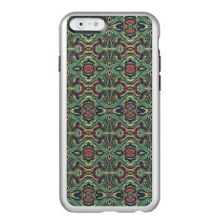 Funda Para iPhone 6 Plus Incipio Feather Shine Diseño rizado dibujado mano colorida abstracta del