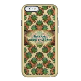 Funda Para iPhone 6 Plus Incipio Feather Shine El tono dos personalizó la caja del teléfono del
