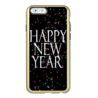 Funda Para iPhone 6 Plus Incipio Feather Shine Feliz Año Nuevo chispeante