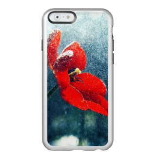 Funda Para iPhone 6 Plus Incipio Feather Shine Flor en la lluvia