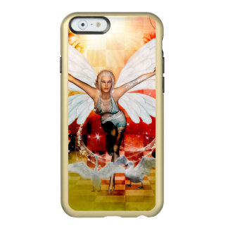 Funda Para iPhone 6 Plus Incipio Feather Shine Hada maravillosa con el cisne