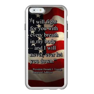 FUNDA PARA iPhone 6 PLUS INCIPIO FEATHER SHINE LUCHA PRES45 PARA USTED