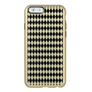 FUNDA PARA iPhone 6 PLUS INCIPIO FEATHER SHINE MÁRMOL NEGRO DIAMOND1 Y LINO BEIGE