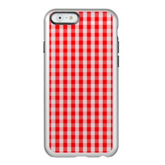 Funda Para iPhone 6 Plus Incipio Feather Shine Pequeño control rojo blanco como la nieve y del
