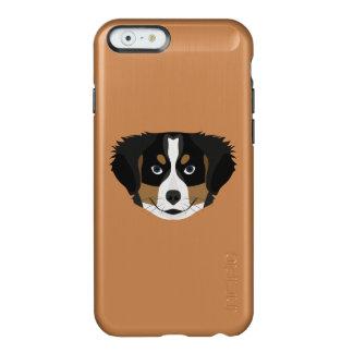 Funda Para iPhone 6 Plus Incipio Feather Shine Perro de montaña de Bernese del ilustracion