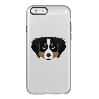 Funda Para iPhone 6 Plus Incipio Feather Shine Perro de montaña de Bernese del ilustracion