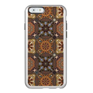Funda Para iPhone 6 Plus Incipio Feather Shine Remiendo del vintage con los elementos florales de