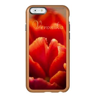 Funda Para iPhone 6 Plus Incipio Feather Shine Tulipán rojo