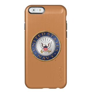 Funda Para iPhone 6 Plus Incipio Feather Shine U.S. Casos del iPhone de la marina de guerra