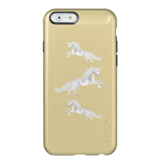 Funda Para iPhone 6 Plus Incipio Feather Shine Unicornio del blanco del ejemplo