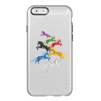 Funda Para iPhone 6 Plus Incipio Feather Shine Unicornios salvajes coloridos del ejemplo