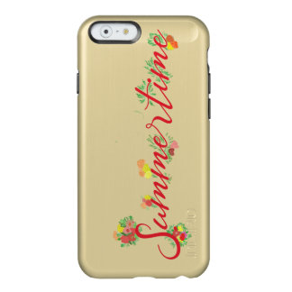 Funda Para iPhone 6 Plus Incipio Feather Shine Verano floral - caja de oro del brillo de Feather®