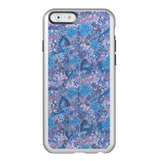 Funda Para iPhone 6 Plus Incipio Feather Shine Watercolor in blues