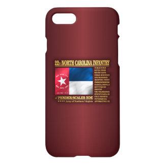 Funda Para iPhone 8/7 22do Infantería de Carolina del Norte (BA2)