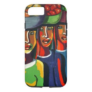 Funda Para iPhone 8/7 3 señoras africanas con las cestas de fruta