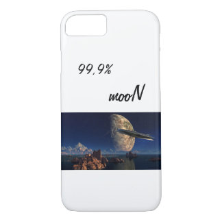 Funda Para iPhone 8/7 99,9% phone case landscape capa país mooN galaxy