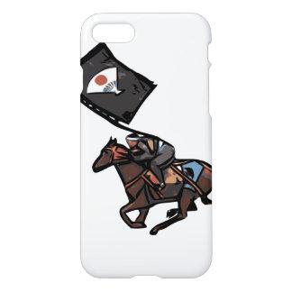 Funda Para iPhone 8/7 A caballo caja del teléfono del samurai