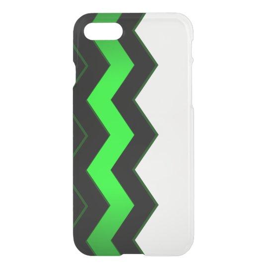 Funda Para iPhone 8/7 Acento verde y negro