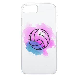 Funda Para iPhone 8/7 Acuarela del voleibol