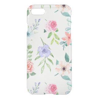 Funda Para iPhone 8/7 Acuarela en colores pastel inconsútil floral