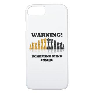 Funda Para iPhone 8/7 ¡Advertencia! Mente proyectora dentro del humor