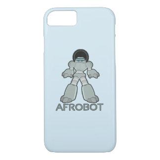 Funda Para iPhone 8/7 Afrobot - robot con Afro