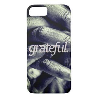 Funda Para iPhone 8/7 agradecido. por todo la impresión