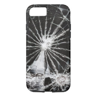Funda Para iPhone 8/7 Agujero de bala - vidrio roto