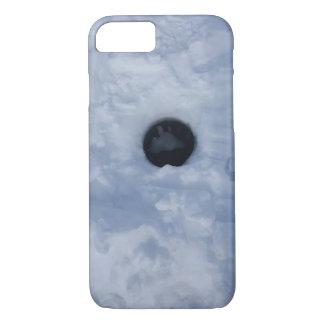 Funda Para iPhone 8/7 Agujero de la pesca del hielo