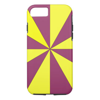 Funda Para iPhone 8/7 amarillo y púrpura