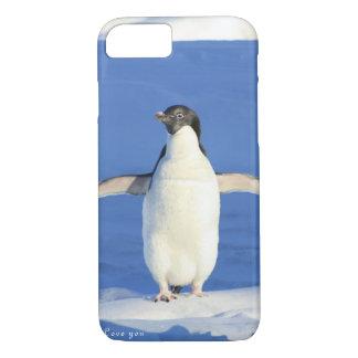 Funda Para iPhone 8/7 Ámele regalo del pingüino