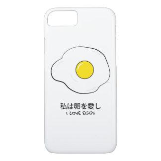 Funda Para iPhone 8/7 Amo los huevos