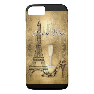 Funda Para iPhone 8/7 Amo los zapatos de la moda de la torre Eiffel de
