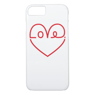 Funda Para iPhone 8/7 Amor casco