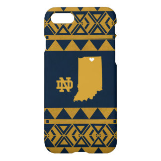 Funda Para iPhone 8/7 Amor tribal del estado de Notre Dame el |