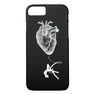Funda Para iPhone 8/7 Anatomía del corazón - acróbata aéreo