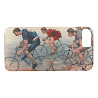 Funda Para iPhone 8/7 Anuncio 1896 de Lithos de la bicicleta