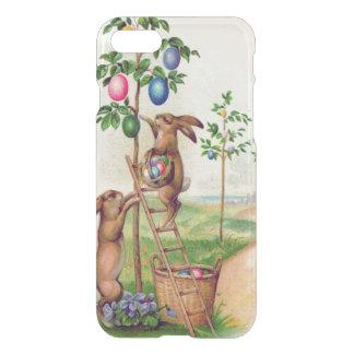 Funda Para iPhone 8/7 Árbol coloreado del huevo del conejito de pascua