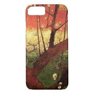 Funda Para iPhone 8/7 Árbol de ciruelo floreciente japonés de Van Gogh,