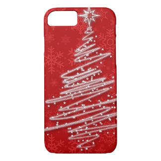 Funda Para iPhone 8/7 Árbol de navidad garabateado
