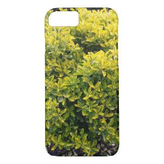 Funda Para iPhone 8/7 Arbusto verde y amarillo