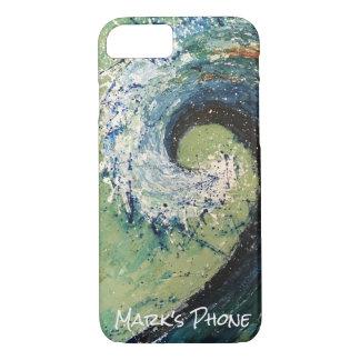 Funda Para iPhone 8/7 Arte abstracto de la onda costera de la playa