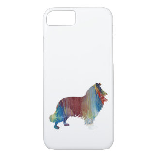 Funda Para iPhone 8/7 Arte del collie
