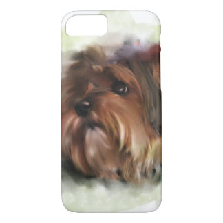 Funda Para iPhone 8/7 Arte digital lindo del perro de perrito del