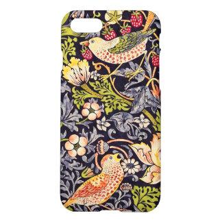 Funda Para iPhone 8/7 Arte floral Nouveau del ladrón de la fresa de