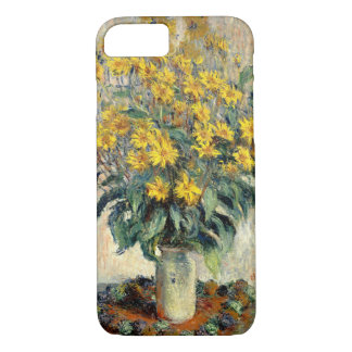 Funda Para iPhone 8/7 Arte fresco floral de la alcachofa de Claude Monet